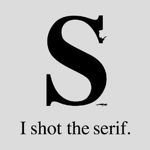 Serifenschrift