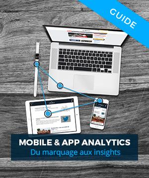 mobile app analytics marquage