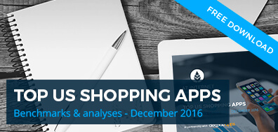 Mobile analytics benchmark - top US shopping apps