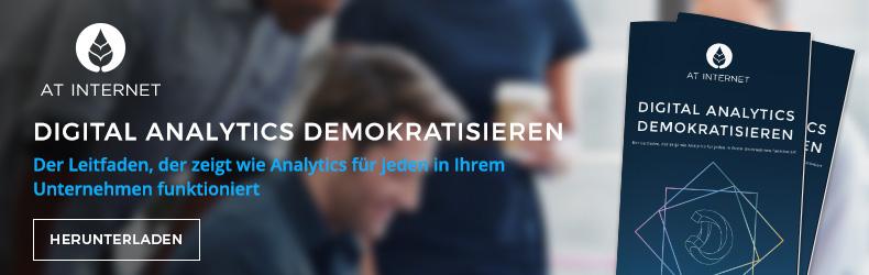 Demokratisierung von Digital Analytics