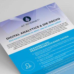 Checkliste: Sind Sie bei Digital Analytics bereit für die DSGVO?