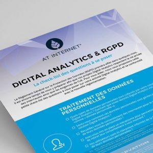 Check-list : vos activités digital analytics sont-elles conformes au RGPD ?