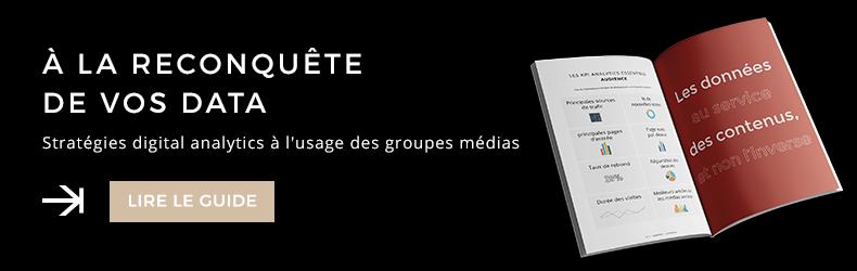 Guide stratégies digital analytics médias