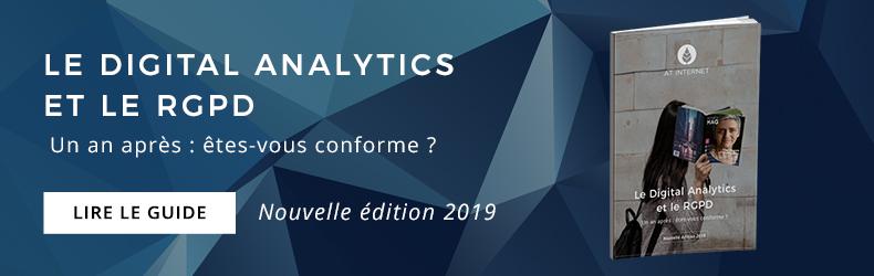 Digital Analytics et RGPD Nouvelle édition