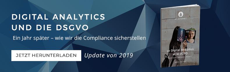 Digital Analytics und die DSGVO