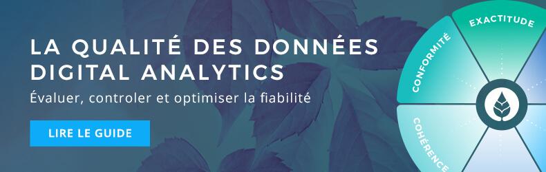 La qualité des données digital analytics, version 2019