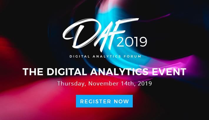 Digital Analytics Forum 2019 EN