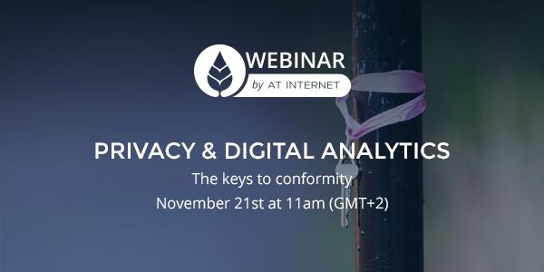Privacy and Digital Analytics webinar
